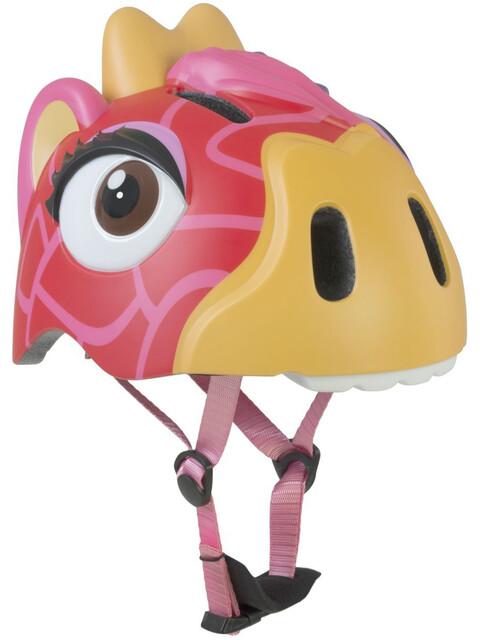 Crazy Safety Giraffe - Casco de bicicleta Niños - amarillo/rojo